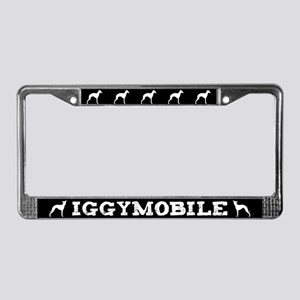 Iggymobile Italian Greyhound License Plate Frame