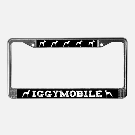 Iggymobile Italian Greyhound License Plate Frame