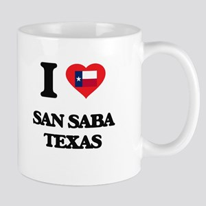 I love San Saba Texas Mugs