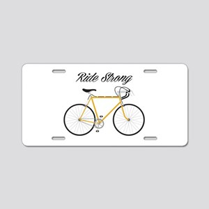 Ride strong Aluminum License Plate