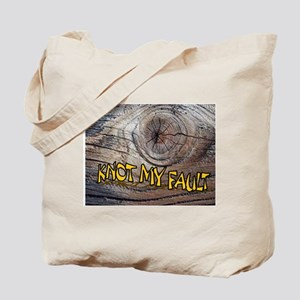 KNOT MY FAULT Tote Bag