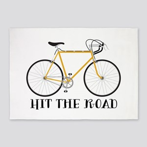 Hit The Road 5'x7'Area Rug