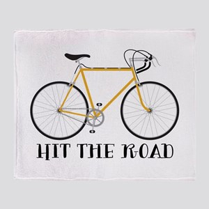 Hit The Road Throw Blanket