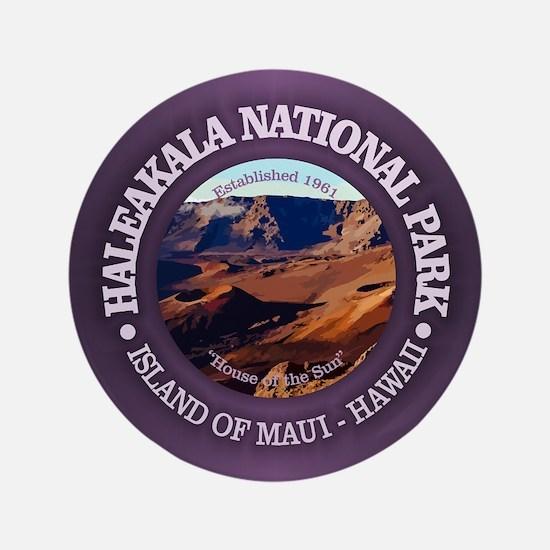 "Haleakala National Park 3.5"" Button"