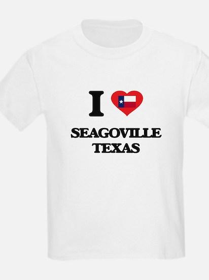 I love Seagoville Texas T-Shirt