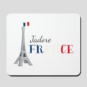 Jadore France Mousepad