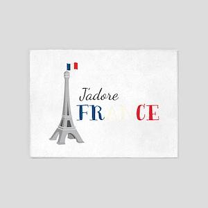 Jadore France 5'x7'Area Rug