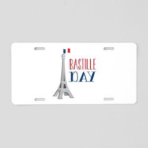 Bastille Day Aluminum License Plate