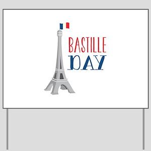 Bastille Day Yard Sign