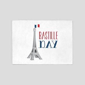 Bastille Day 5'x7'Area Rug