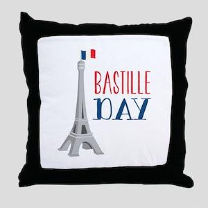 Bastille Day Throw Pillow