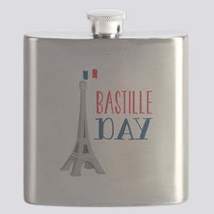 Bastille Day Flask