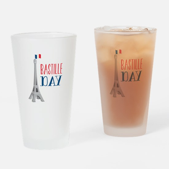 Bastille Day Drinking Glass