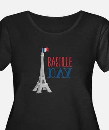 Bastille Day Plus Size T-Shirt