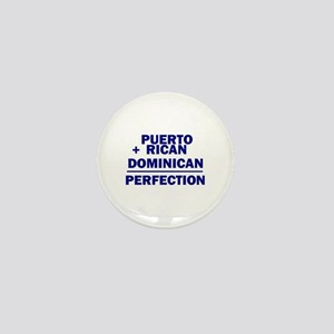 Dominican + Puerto Rican Mini Button