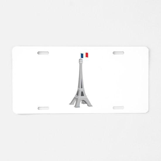France Aluminum License Plate