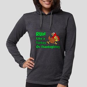 Run Turkey Thanksgiving Long Sleeve T-Shirt