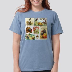 Thanksgiving Vintage M Womens Comfort Colors Shirt