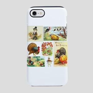 Thanksgiving Vintage Medley iPhone 7 Tough Case