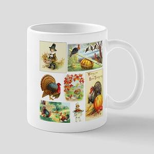 Thanksgiving Vintage Medley 11 oz Ceramic Mug