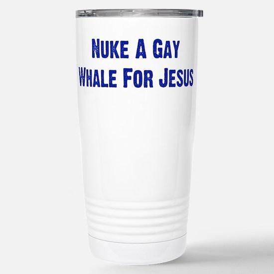 Nuke A Gay Whale Mugs