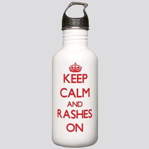 Keep Calm and Rashes O Stainless Water Bottle 1.0L