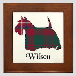Terrier-Wilson Framed Tile