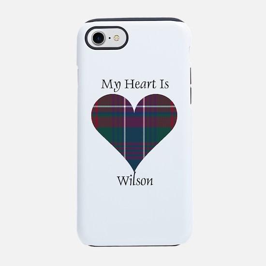 Heart-Wilson iPhone 7 Tough Case