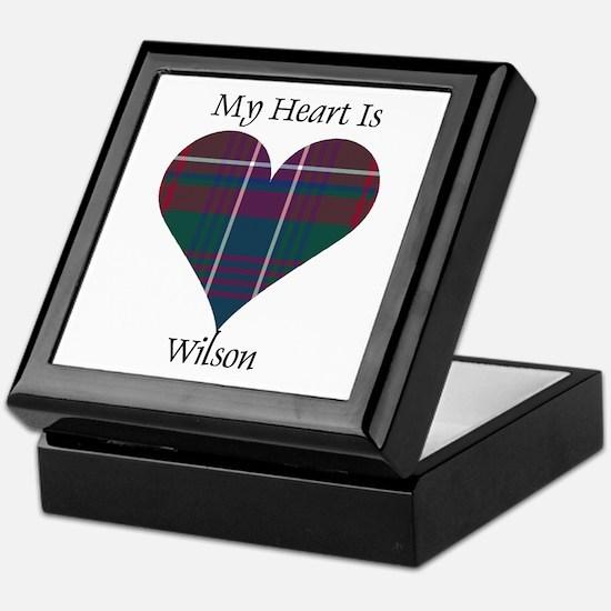 Heart-Wilson Keepsake Box