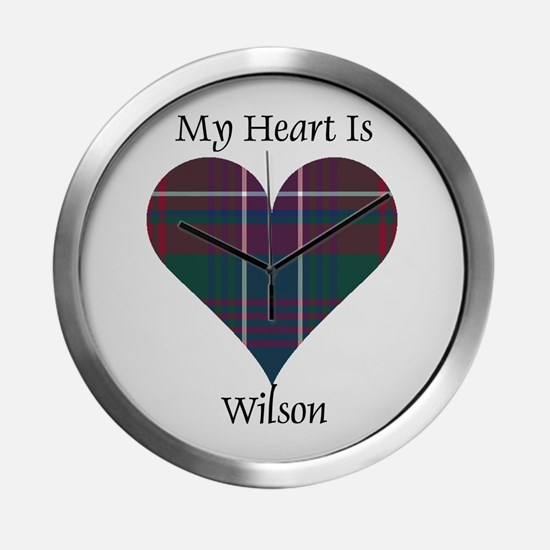 Heart-Wilson Modern Wall Clock