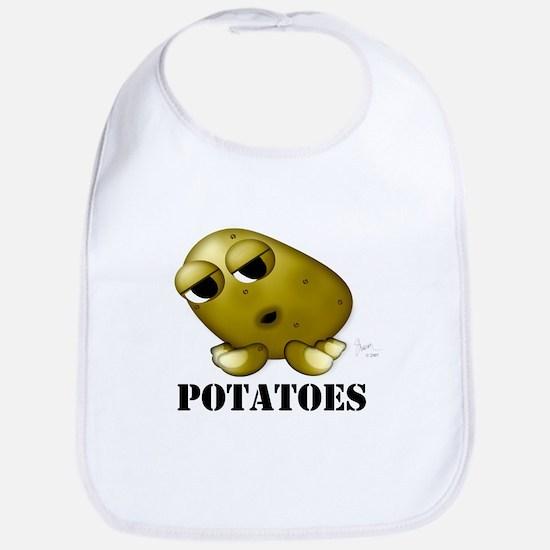 Potato Head with Toes Bib