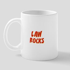 Law~Rocks Mug