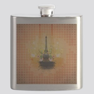 The Eiffel Tower Flask