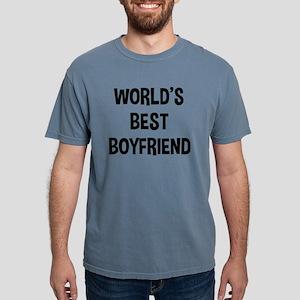 World's Best Boyfriend Mens Comfort Colors Shirt