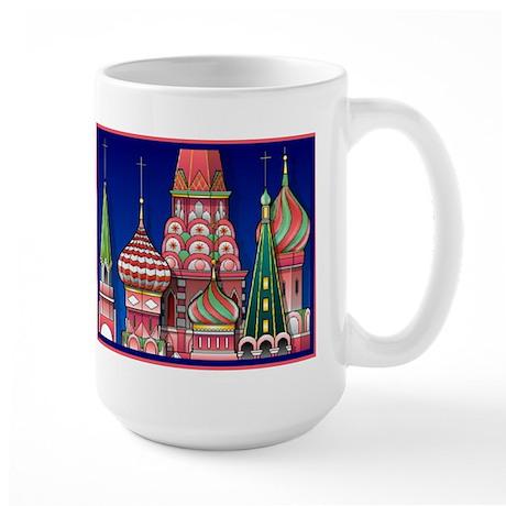 Moscow Architecture Large Mug
