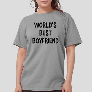 World's Best Boyfriend Womens Comfort Colors Shirt
