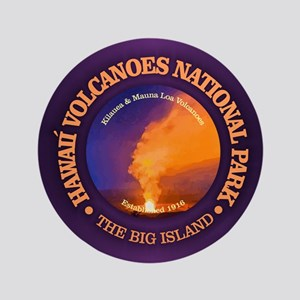 "Hawaii Volcanoes NP 3.5"" Button"