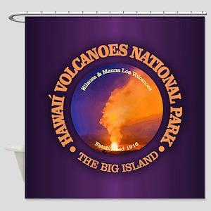 Hawaii Volcanoes NP Shower Curtain