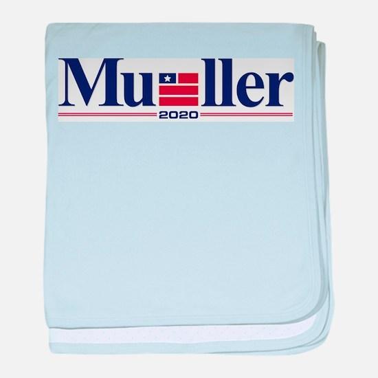 Robert Mueller for President 2020 baby blanket