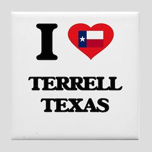 I love Terrell Texas Tile Coaster