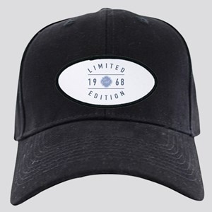 1968 Limited Edition Black Cap with Patch