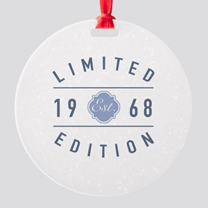 1968 Limited Edition Round Ornament
