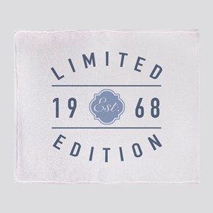 1968 Limited Edition Throw Blanket