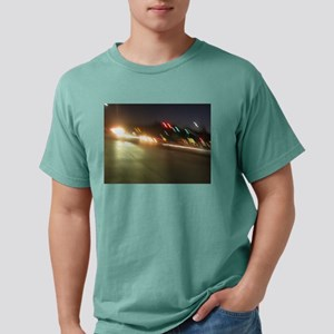 IMG_9517 traffic at night colorful lig T-Shirt