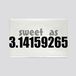 Sweet as Pi Rectangle Magnet