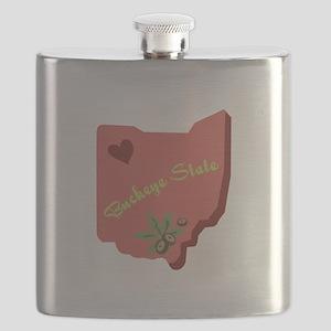 Buckeye State Flask