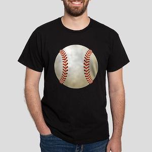 Baseball Ball Dark T-Shirt