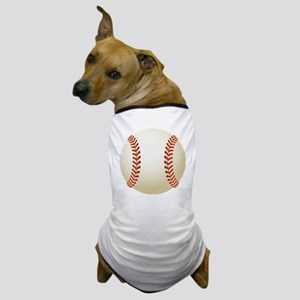 Baseball Ball Dog T-Shirt