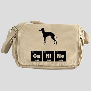 Italian Greyhound Messenger Bag