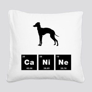 Italian Greyhound Square Canvas Pillow